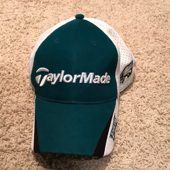 Philadelphia Eagles TaylorMade Golf hat. M 5adfd556b7f72be15c53c1cd. Other  Accessories ... f3f519584